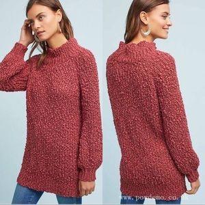 Anthropologie Tina Jo knobby knit sweater S